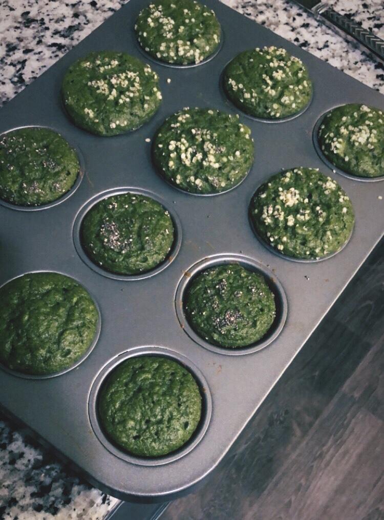The Incredible Edible Flax Egg Green Muffin Recipe